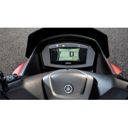 Tričko Yamaha VR46 black line